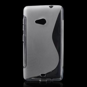 Gelový obal na Microsoft Lumia 535 - transparentní - 1
