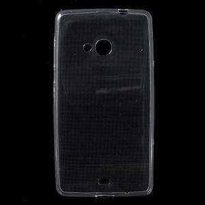 Ultra tenký obal na Microsoft Lumia 535 - transparentní - 1