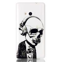 Soft gelový obal na mobil Microsoft Lumia 535 - skull - 1/3
