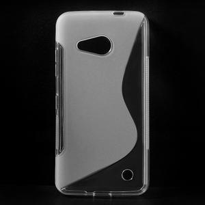 S-line gelový obal na mobil Microsoft Lumia 550 - transparentní - 1