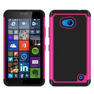 Odolný hybridní kryt na mobil Microsoft Lumia 640 - rose - 1