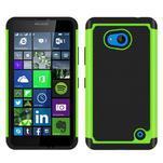 Odolný hybridní kryt na mobil Microsoft Lumia 640 - zelený - 1/4