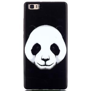Gelový obal na mobil Huawei Ascend P8 Lite - panda - 1