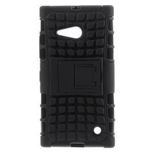 Outdoor odolný kryt na Nokia Lumia 730/735 - černý - 1