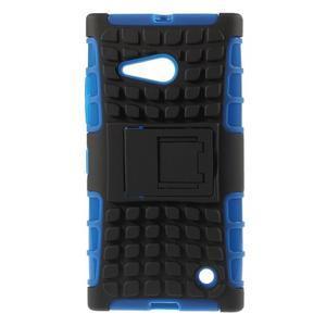 Outdoor odolný kryt na Nokia Lumia 730/735 - modrý - 1