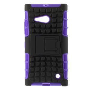 Outdoor odolný kryt na Nokia Lumia 730/735 - fialový - 1
