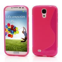 S-line gelový obal na Samsung Galaxy S4 - rose - 1/6