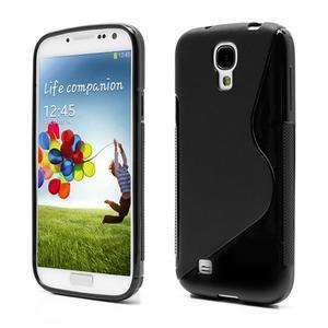 S-line gelový obal na Samsung Galaxy S4 - černý - 1