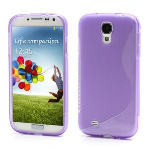 S-line gelový obal na Samsung Galaxy S4 - fialový - 1