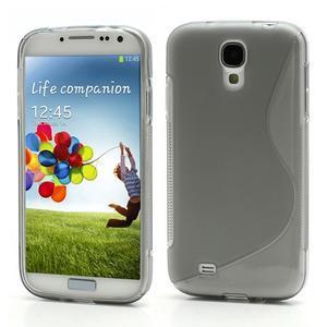 S-line gelový obal na Samsung Galaxy S4 - šedý - 1