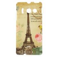 Gelový obal pro mobil Huawei Ascend Y300 - Eiffelova věž - 1/5