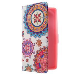 Cross peněženkové pouzdro na Huawei Honor 7 - mandala - 1