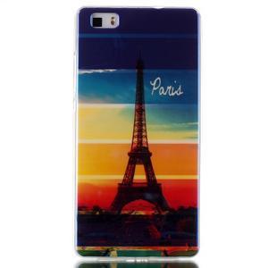 Blu-ray magic gelový obal na Huawei Ascend P8 Lite - Eiffelova věž - 1