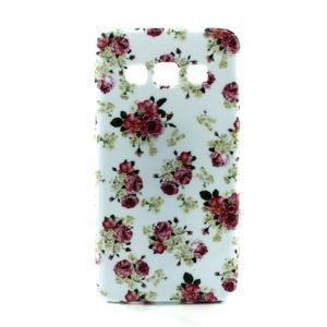 Gelový kryt na Samsung Galaxy A3 - květiny - 1