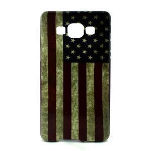 Gelový kryt Samsung Galaxy A5 - vlajka USA - 1