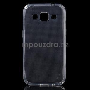 Ultra tenký slim obal na Samsung Galaxy Core Prime - transparentní - 1