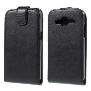 Flipové pouzdro Samsung Galaxy Core Prime - černé - 1