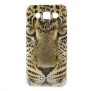 Gelový obal na mobil Samsung Galaxy E5 - leopard - 1