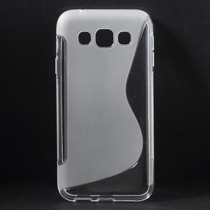 Transparentní gelový obal Samsung Galaxy E5 - 1