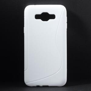 S-line gelový obal na Samsung Galaxy E7 - bílý - 1