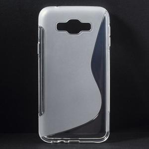 S-line gelový obal na Samsung Galaxy E7 - transparentní - 1
