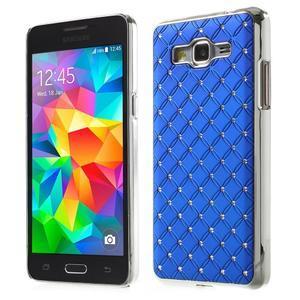 Modrý drahokamový kryt na Samsung Grand Prime - 1