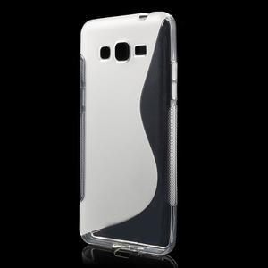 S-line gelový obal na Samsung Galaxy Grand Prime - transparentní - 1