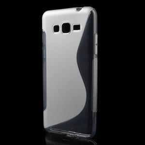 S-line gelový obal na Samsung Galaxy Grand Prime - šedý - 1