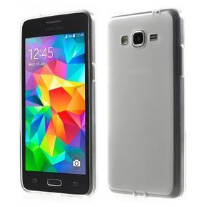Oboustranně matný kryt na Samsung Galaxy Grand Prime - bílý - 1