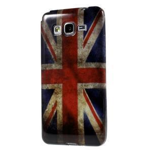 Gelový obal Samsung Galaxy Grand Prime G530H - UK vlajka - 1