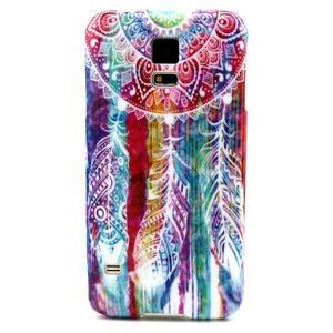 Luxury gelový obal na mobil Samsung Galaxy S5 - lapač snů - 1
