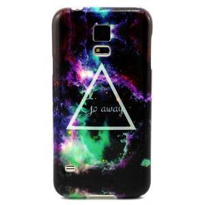 Luxury gelový obal na mobil Samsung Galaxy S5 - triangl - 1