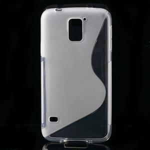 S-line gelový obal na mobil Samsung Galaxy S5 - transparentní - 1