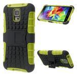 Outdoor odolný kryt na mobil Samsung Galaxy S5 - zelený - 1/7