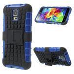 Outdoor odolný kryt na mobil Samsung Galaxy S5 - modrý - 1/7