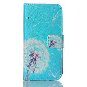 Stand peněženkové pouzdro na Samsung Galaxy S5 mini - odkvetlá pampeliška - 1