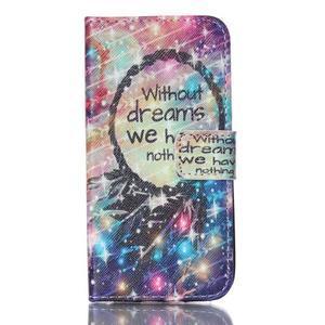 Stand peněženkové pouzdro na Samsung Galaxy S5 mini - dreams - 1