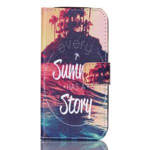 Stand peněženkové pouzdro na Samsung Galaxy S5 mini - příběh - 1