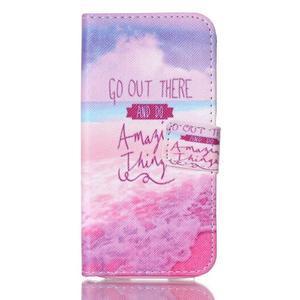 Stand peněženkové pouzdro na Samsung Galaxy S5 mini - myšlenky - 1