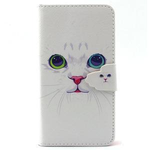 Peněženkové pouzdro na mobil Samsung Galaxy S5 mini - kočička - 1