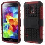 Outdoor odolný obal na mobil Samsung Galaxy S5 mini - červený - 1/7