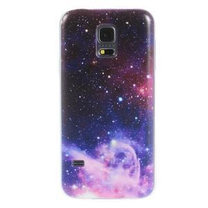 Ultratenký obal na mobil Samsung Galaxy S5 mini - galaxie - 1