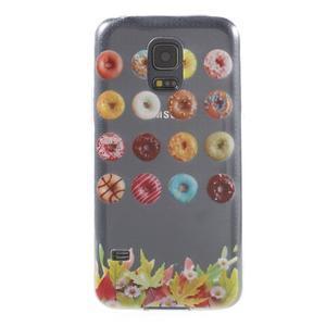 Gelový kryt na mobil Samsung Galaxy S5 mini - donut - 1