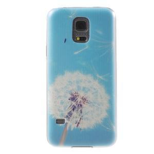 Gelový kryt na mobil Samsung Galaxy S5 mini - pampeliška - 1