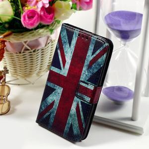 Peněženkové pouzdro na Sony Xperia E4g - UK vlajka - 1