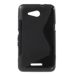 S-line gelový obal pro Sony Xperia E4g - černý - 1