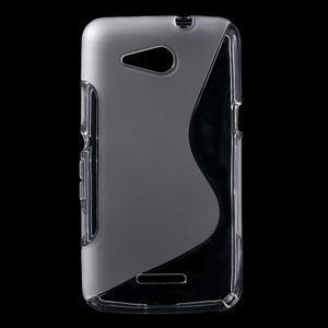 S-line gelový obal pro Sony Xperia E4g - transparentní - 1