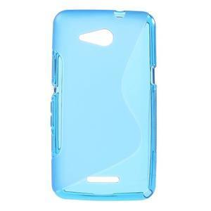 S-line gelový obal pro Sony Xperia E4g - modrý - 1