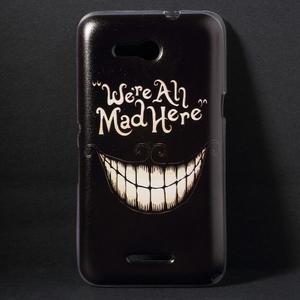 Gelový obal na Sony Xperia E4g - úsměv - 1