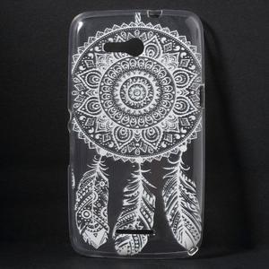 Gelový obal na Sony Xperia E4g - tribal - 1